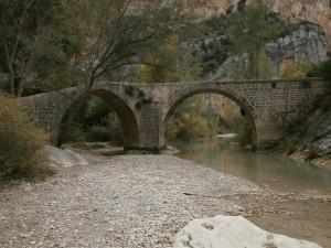 Alquézar. Puente de Villacantal