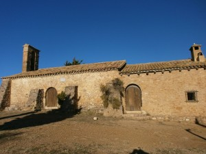 Alquézar. Ermita de San Gregorio