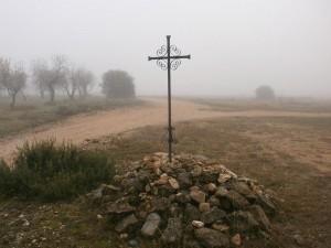 """Adahuesca. La cruz de """"crucelós"""""""