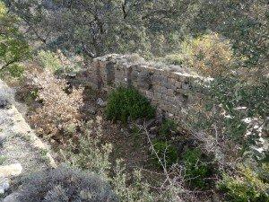 Fornons. Interior ermita Santa María