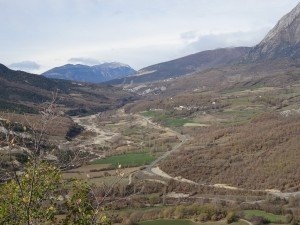 Fornons. Vista del Valle de Lierp