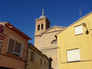 Sariñena. Iglesia del Salvador