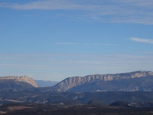 Camino San Quílez. Congosto de Mont-rebei