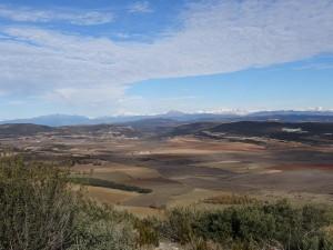 Camino San Quílez. Llanos del Plá