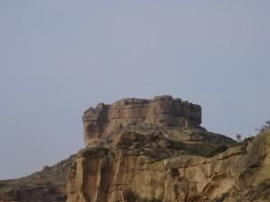 La Gabarda. La Fortificación