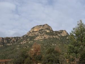 Güel. Camino Casa Pelegrín. Morrones