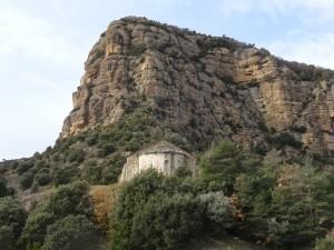 Güel. Ermita Virgen de las Rocas