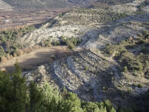 Camino de Pedrui. Formaciones geológicas