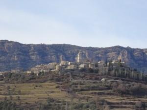 Roda de Isábena, desde El Villar