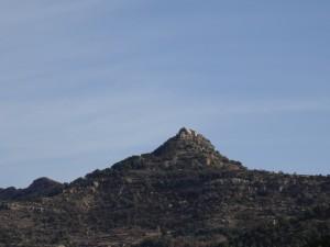Ermita El Tozal, desde El Villar