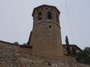 Aler. Santa María. Torre campanario