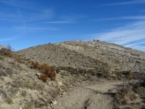 Camino de Iscles. Formaciones geológicas
