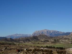 El Turbón y Cotiella, desde la mina