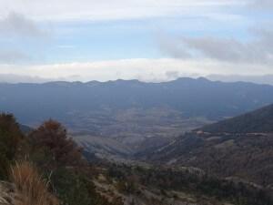 Valle de Lierp. Sierra del Chordal