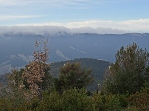Cumbre de Esbenegaz que asoma en primer término