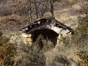 Caseta refugio de monte