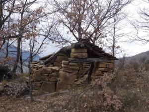 Antigua caseta de monte, camino de Villacarli