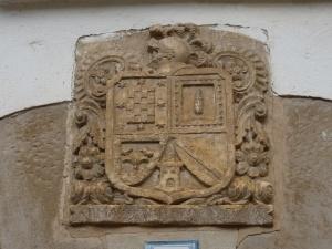 Aguas. Escudo de Armas de Don Martín Azevillo