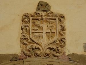 Liesa. Escudo de Armas de Guiral
