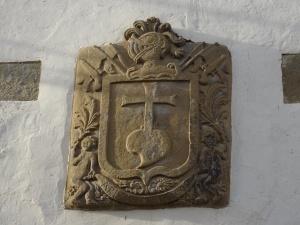 Liesa. Escudo de Armas de Vescos