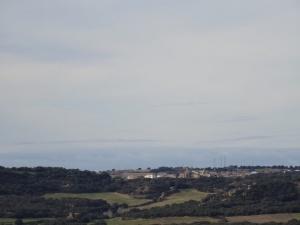 Desde la ermita, una vista de Siétamo