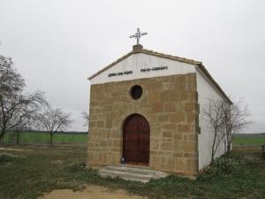 Pueyo de Fañanás. Ermita de San Pedro