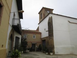 Pueyo de Fañanás. Iglesia San Pedro de Verona