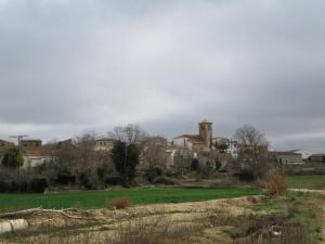 Pueyo de Fañanás. Camino de Alcalá del Obispo