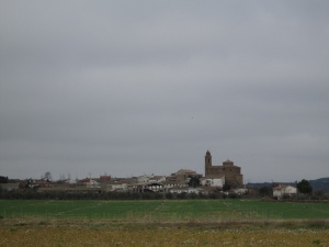 Fañanás. Camino de Alcalá del Obispo