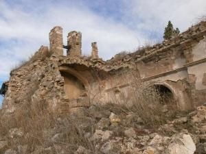 """Purroy """"el viejo"""". San Justo y Pastor en ruinas"""