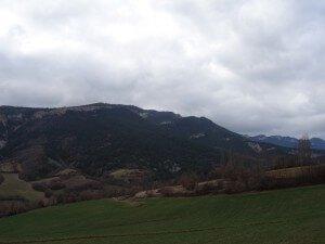 Sierra del Chordal, camino de Villacarli