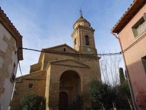Liesa. Iglesia de San Pedro