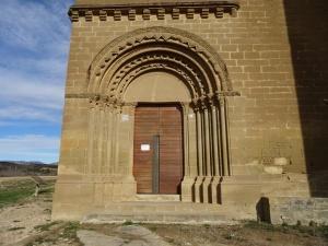 Ibieca. Iglesia de San Miguel de Foces