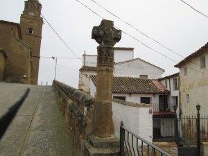 Torres de Montes. Crucero de piedra