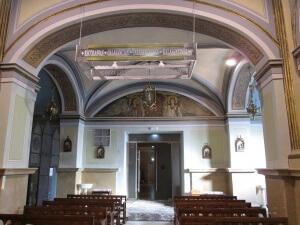 Peralta. Santuario. Interior del templo