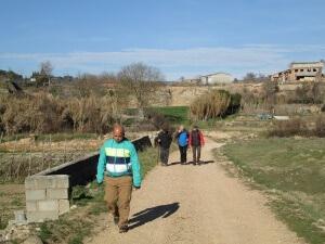 Camino del Castillo de la Mora