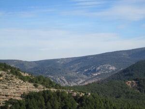 Gabasa, desde el Castillo de la Mora