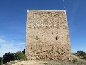 Peralta de la Sal. Castillo de la Mora