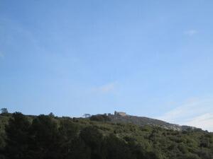 Ermita de los Mártires, camino de Baldellou