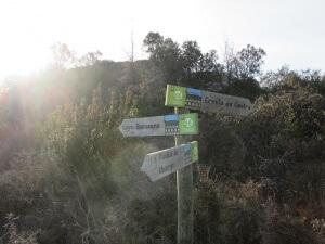 La Puebla de Castro. Camino de la ermita de Castro