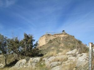 La Puebla de Castro. Restos del castillo de Castro