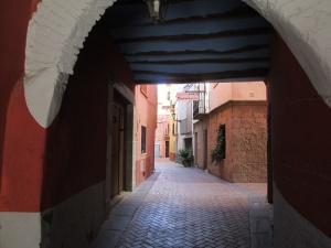 La Puebla de Castro. El cubierto de Gros