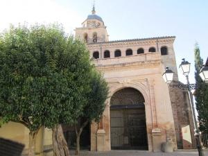 La Puebla de Castro. Iglesia de Santa Bárbara