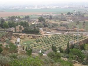Binéfar. Vista desde San Quílez