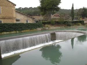 Canal de Zaidín. Central hidroeléctrica