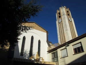 Estadilla. Iglesia parroquial