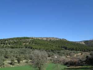 Camino de Fonz. Sierra de La Carrodilla