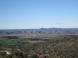 Vega del Cinca, desde el Balcón del Cinca