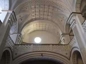 Peralta de la Sal. Yeserías iglesia parroquial