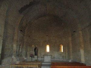 Ermita de San Román de Castro. Interior